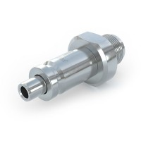 WEH® Quick release nipple TN350 for connector changeover, sliding sleeve actuation, max. 375 bar